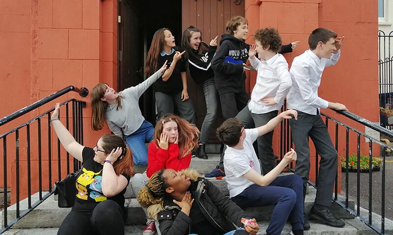 Amharclann na nÓg ar Oíche Chultúir/Youth Theatre (as Gaeilge) on Culture Night!