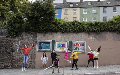 Come and see our Gifts to Cork for Cruinniú na nÓg and be part of the art